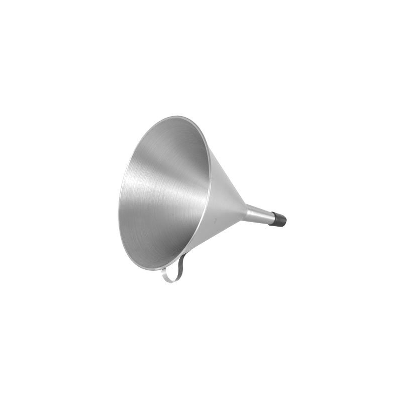 ROUND STAINLESS STEEL FUNNEL  180mm