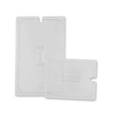 INSERT - FULL LID NOTCHED POLYCARB (CLEAR) - 1