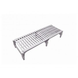PLASTIC DUNNAGE RACK - 610 x 910 x 225mm - 1