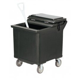 ICE CADDY PORTABLE  57KG / 125LB (BLACK)