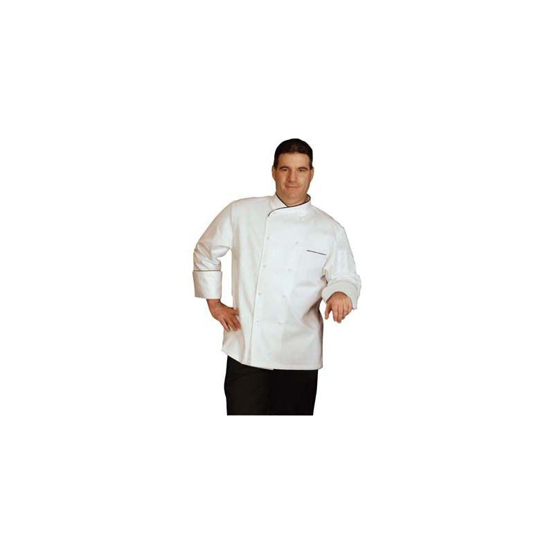 CHEFS UNIFORM EGYPTIAN COTTON EXEC LONG  - X-SMALL - 1