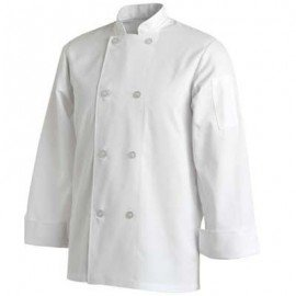 CHEFS UNIFORM JACKET BASIC LONG - X - SMALL - 1
