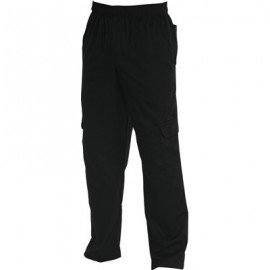 CHEFS UNIFORM - CARGO'S BLACK - X - SMALL - 1