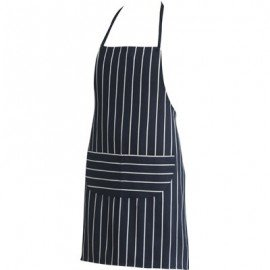 CHEFS UNIFORM  BISTRO BLACK APRON