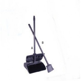 LOBBY BROOM - FOR DUST PAN WITH COVER - 1