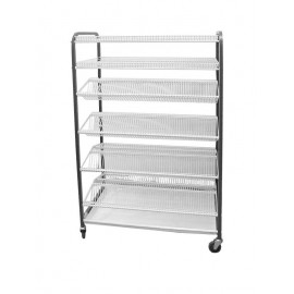 CROCKERY RACK MOBILE - F/STANDING - 1130mm (300PCS) - 1