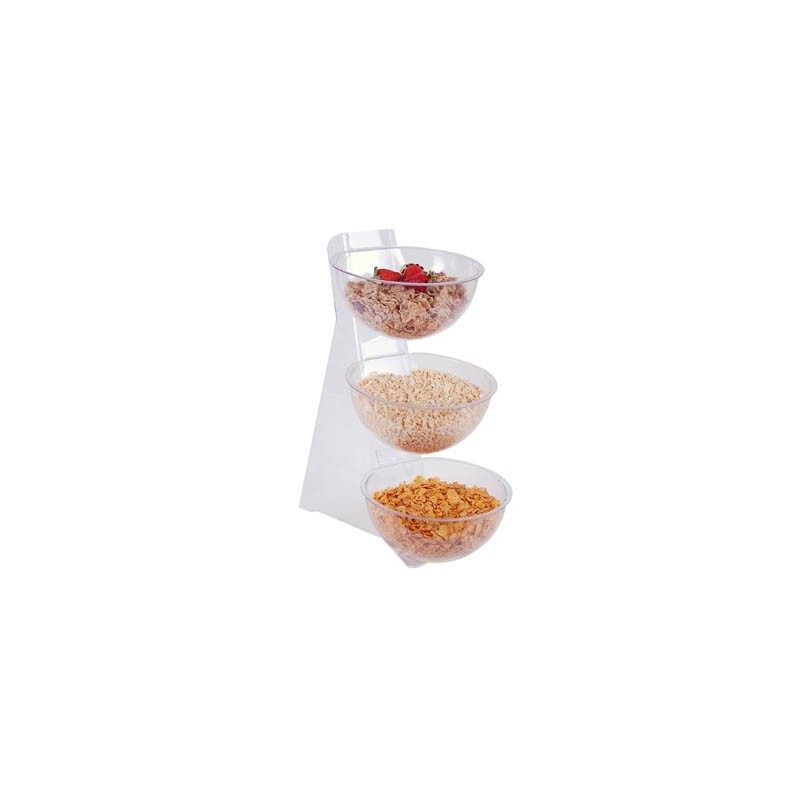 CONDIMENT BOWL STAND - 3 TIER - 1
