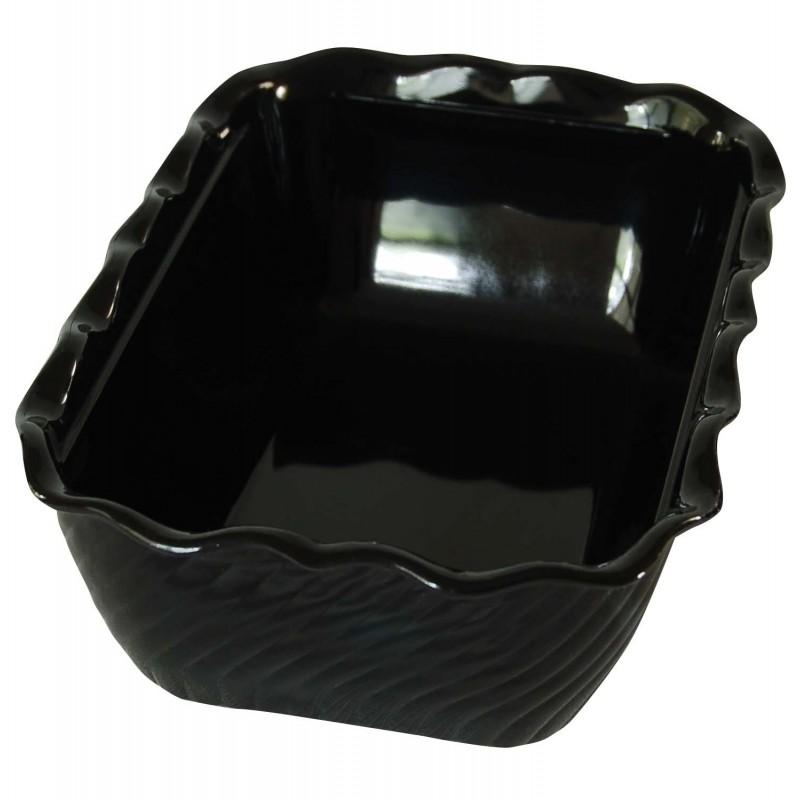 DISPLAY DISH TULIP - 2kg - BLACK - 1
