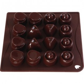 MOULD CHOCOICE 16 PIECE ASSORTED - 1