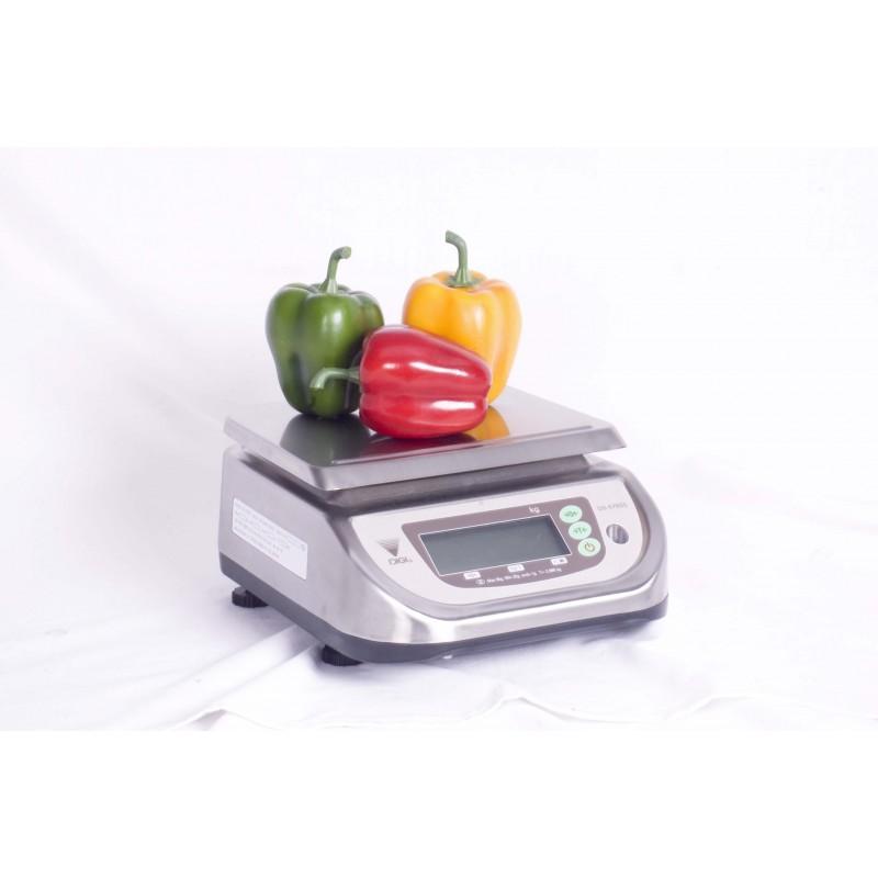 PORTION SCALE ELECTRONIC - 3/6kg (1/2gr) - S/STEEL - 1