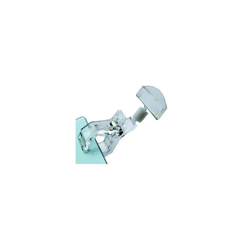 PLASTIC DISPLAY CLIP - WIDE BASE - 1