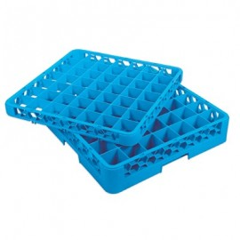 GLASS RACK - 49 COMPARTMENT (BLUE) - RACK ONLY