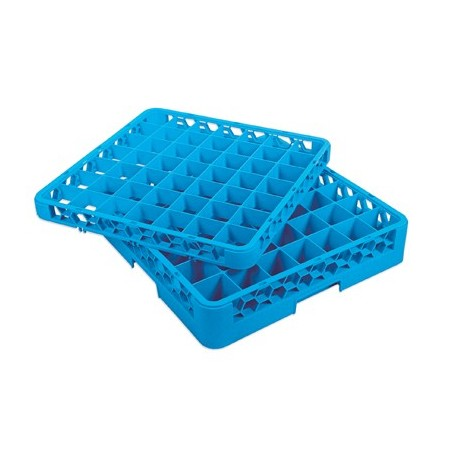 GLASS RACK - 49 COMPARTMENT (BLUE) - 1