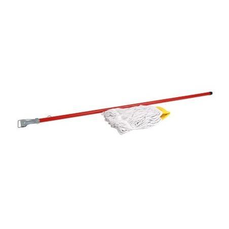 MOP HOLDER - PVC / WOOD HANDLE
