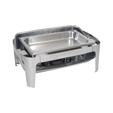CHAFING DISH RECTANGULAR - ROLL TOP (180 DEGREE) - 1