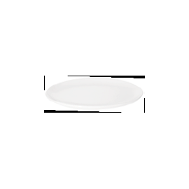 OVAL COUPE PLATE 23.2x18.2cm - 1
