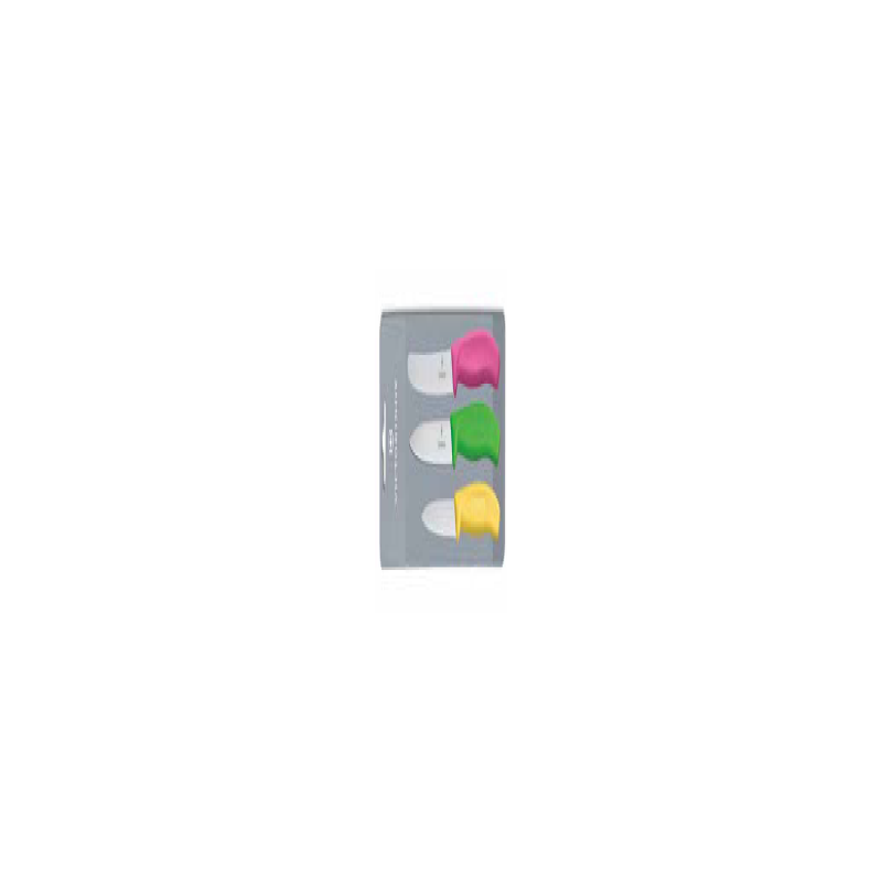 VICTORINOX - CLASSIC 3 PIECE PRISM PARING SET - 1