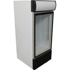 1/2 Door Swing Door Beverage Cooler - 1
