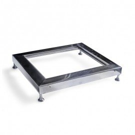 INDUCTION HOB STAND- S/STEEL (SQUARE) ELECTRO CHEF - 1