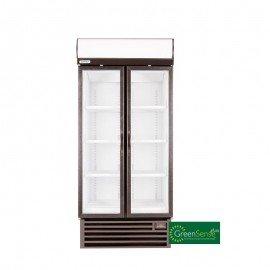 BEVERAGE COOLER DOUBLE HINGED DOOR - HD890 - 1