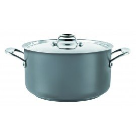 Casserole Pot (Grey) 14L W/Lid - 1