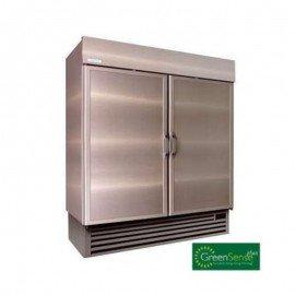 BEVERAGE COOLER DOUBLE SOLID HINGED DOOR - SHD1360 - 1