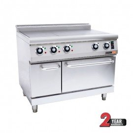 ANVIL 3 PLATE STOVE WITH OVEN - ELECTRIC - 1