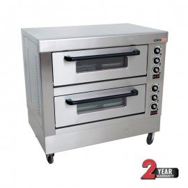 DECK OVEN ANVIL - 4 TRAY - DOUBLE DECK - 1