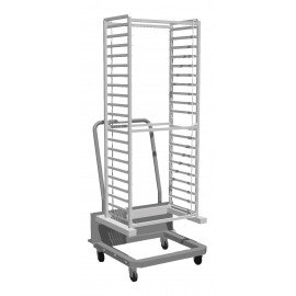 COMBI STEAM OVEN PIRON - 16 PAN ROLL IN TROLLEY - 1