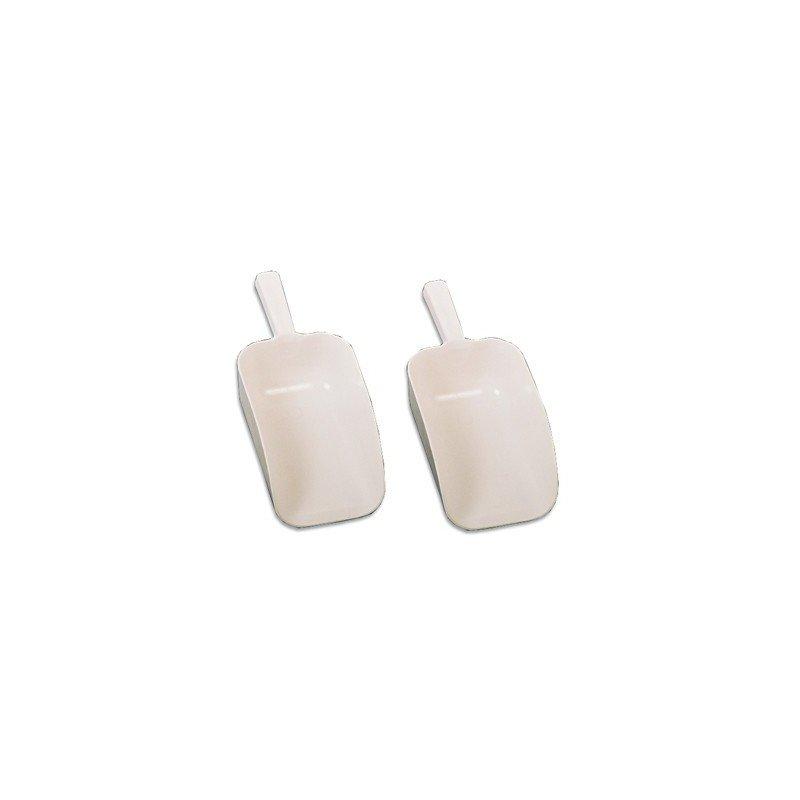 SCOOP PLASTIC WHITE  240 x 150 x 360MM