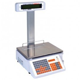 RETAIL PRINTER SCALE ELECTRONIC  15KG (15 x 5G)