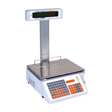 RETAIL PRINTER SCALE ELECTRONIC - 6/15kg (2/5gr) - 1
