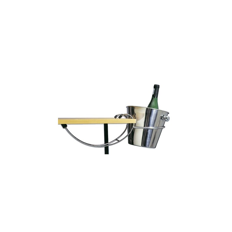 ICE BUCKET STAND - TABLE MOUNTED - 1