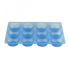 MOULD SILICONE  MUFFIN 12 CUPS  70 x 30MM