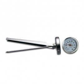 THERMOMETER ROASTING STEEL STEM  140MM (0?C TO +100?C)