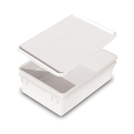 STORAGE CONTAINER LARGE WITH LID - PLASTIC - 1