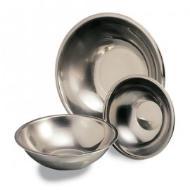 MIXING BOWL STAINLESS STEEL ROUND  220mm (1.5Lt)