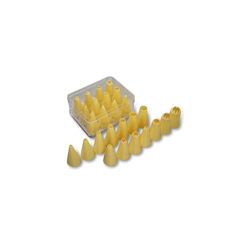 NOZZLE SET PLASTIC ASSORTED  12 PIECE