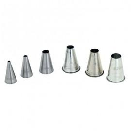 NOZZLE INDIVIDUAL PLAIN - METAL 2mm - 1